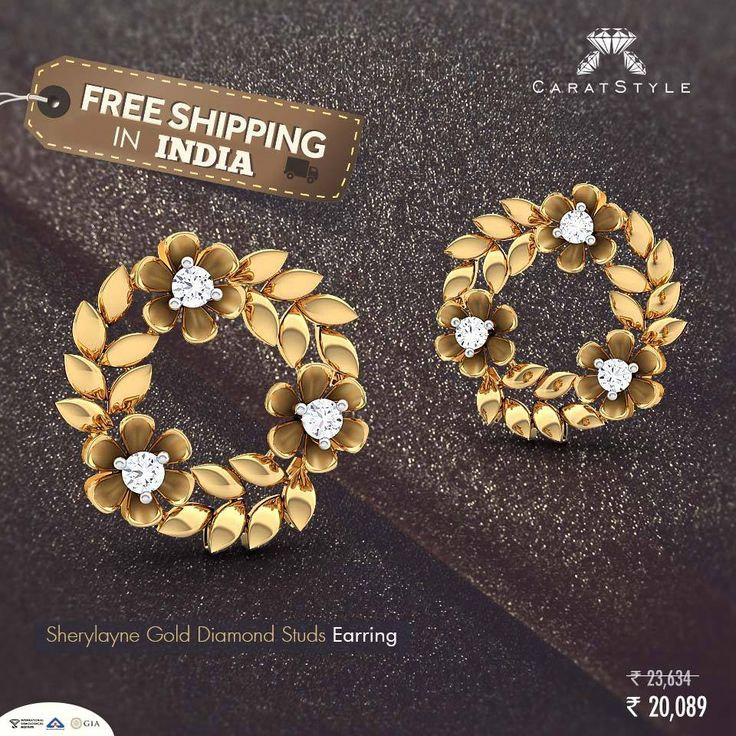 Because she makes you coffee even for your 3 a.m video conferences… #earring #gifting #goldearring #diamondearring #fashion #lifestyle #dimaondjewellery #goldjewellery