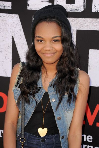 "China Anne McClain Super Cute At Disney's ""The Lone Ranger"" Premiere June 22, 2013"