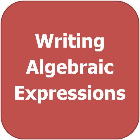 Exam Masters Tutoring Service - Writing Algebraic Expressions