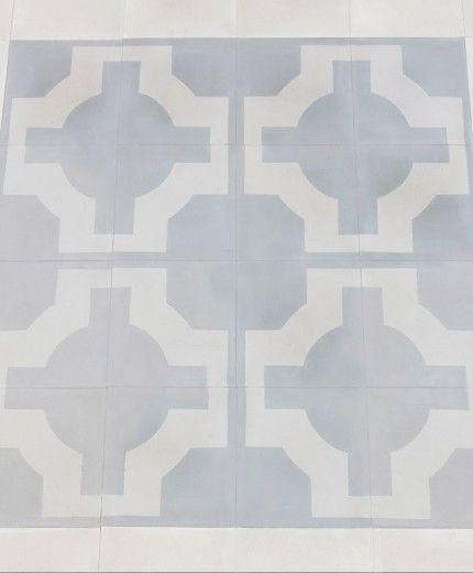 Light Grey And White Cement Tiles Alden Pinterest