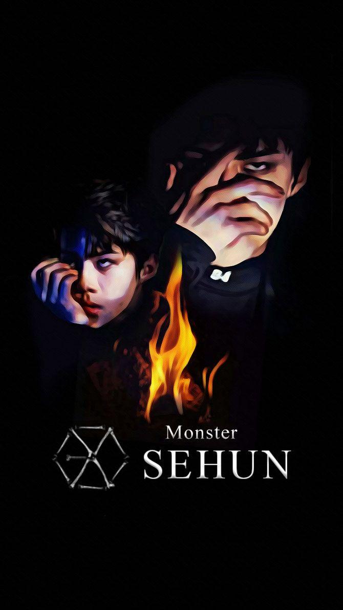 _wallpaper__exo_2016_monster_teaser__sehun__by_stoneheartedhan-da4wf3t.jpg (670×1192)