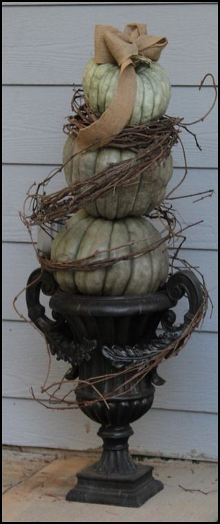 .Halloween Thanksgiving Fal, Fall Decor, Fall Ideas, Fall Crafts, Pumpkin, Grapevine, Halloween Fal Ideas, Fall Thanksgiving, Fall Halloween