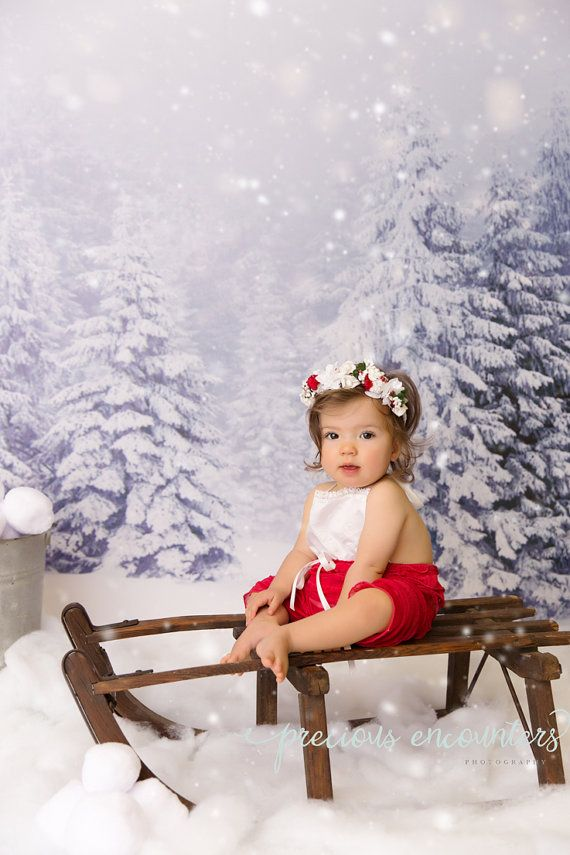 Weihnachten-Strampler / Mütze / Stirnband von babyportraitpropshop