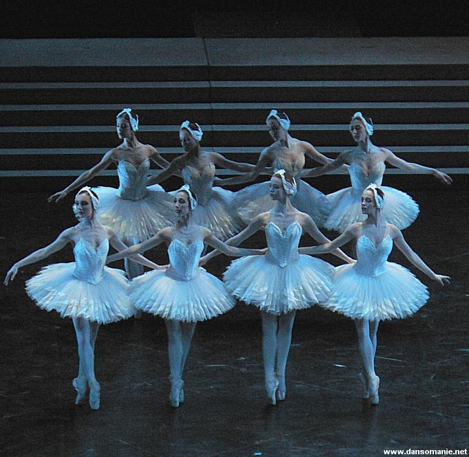 Swan lake Paris opera ballet