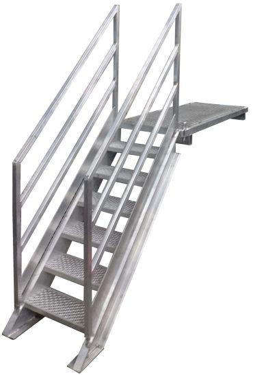 Stair aluminium