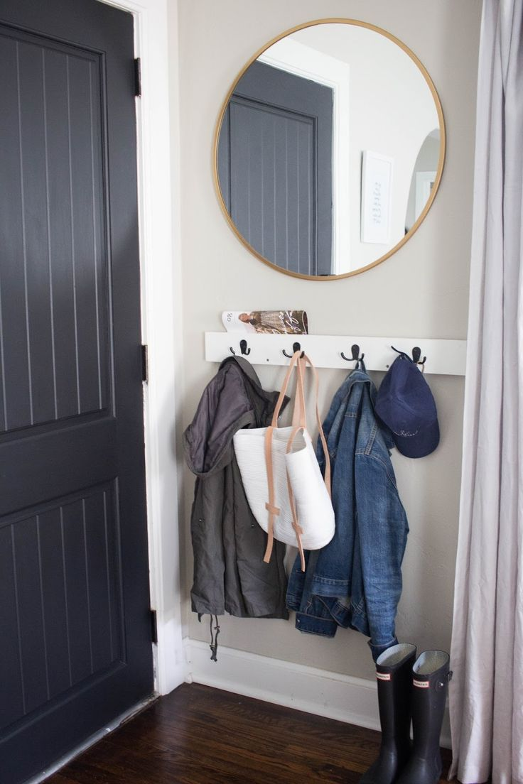 always rooney: How To Create An Entry Way In A Small Space                                                                                                                                                                                 More