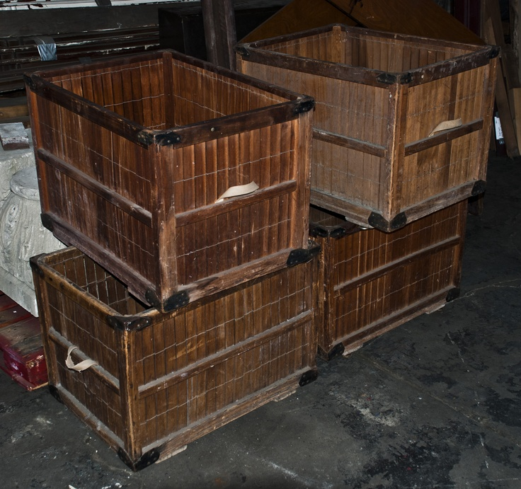 Wooden Baskets: Objects Inventory, Wooden Baskets