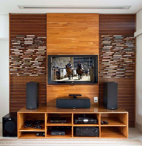 5 soluções de marcenaria para guardar CDs, blu-rays e discos - Casa