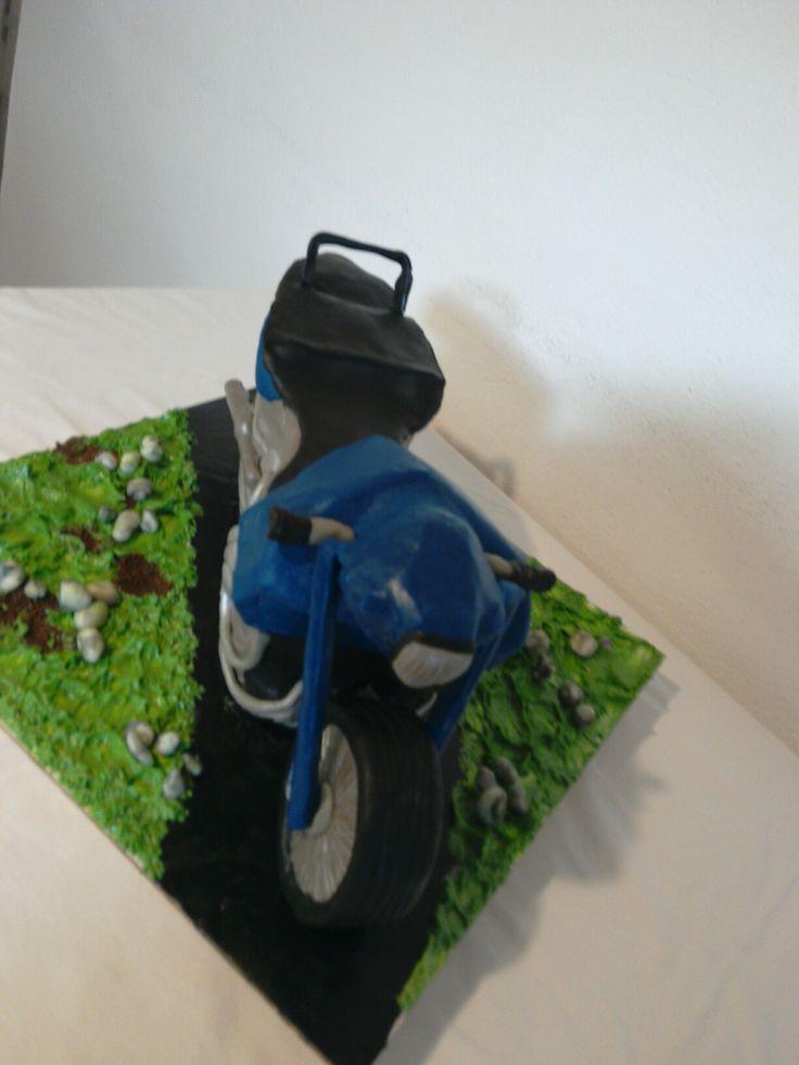 Motobike cake 3D