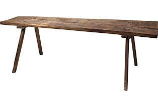 19th-C. Farm TableNarrow Tables, Farm Tables, Century Farms, 19Th C, 19Thc, Tables Ideas, Farms Tables