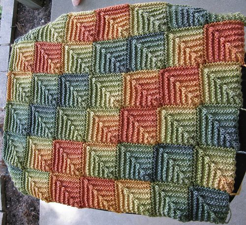 17 Best images about Modular knitting / domino knitting on Pinterest Yarns,...