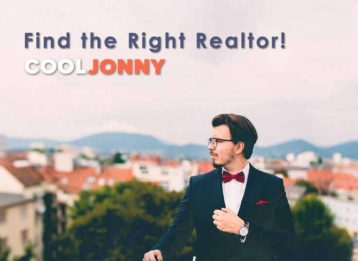 When you're looking for a real estate agent, you want the best one. Remember: 20% of the agents do 80% of the business. You'll find these 20% at CoolJonny.com.
