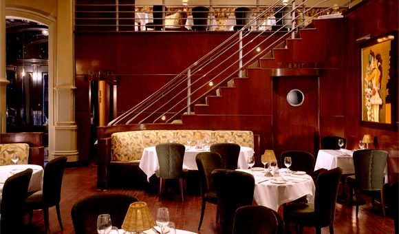 BIX Supper Club (San Francisco) -- Still one of my favorite restaurants in the world. Feels like an Art Deco speakeasy. My kids even raved about the buttered noodles.
