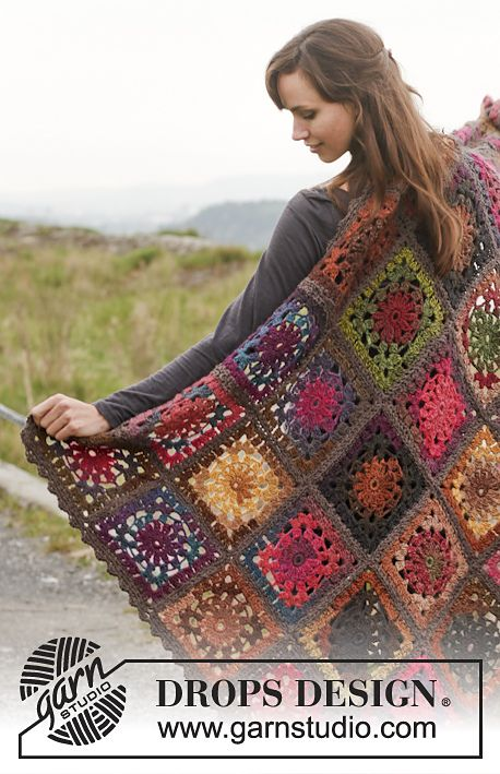 Ravelry: 150-54 Log Cabin by DROPS design
