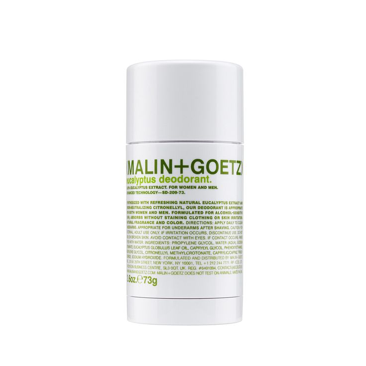 #natural #effective #deodorant #alcoholfree #aluminum-free. Formulated with refreshing eucalyptus extract and odor-neutralizing citronellyl, it is for all skin types, especially sensitive. (MALIN+GOETZ) Eucalyptus Deodorant.