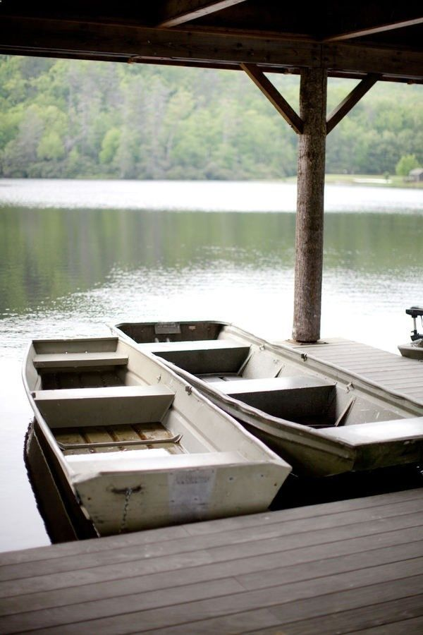 what i want next summer - a flat bottom boat