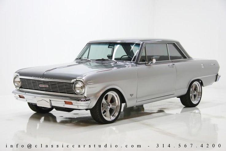 My dream car. 1965 Chevy Nova.  I use to own one similar to this one - though mine was a four door. It had a lot of guts!!!