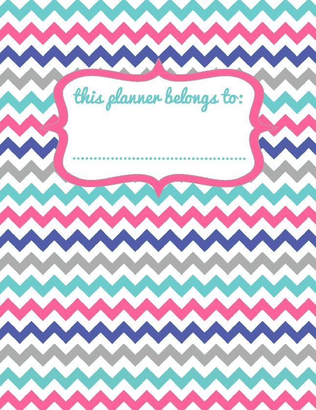 Sassy Printable Binder Planner Cover