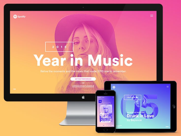 Spotify – Year in Music