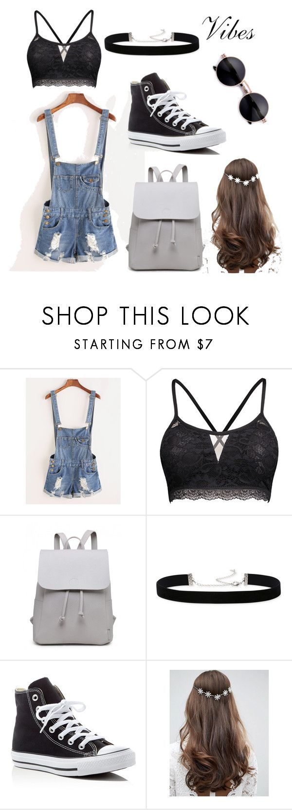 """""""Summer Go To"""" by lilmainella on Polyvore featuring 2028, Converse and ASOS"""