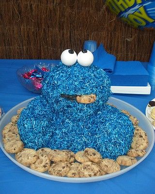 Cookie Monster kids birthday cake: Cookie Monster Cakes, Monsters Cakes, Monsters Kids, Kids Parties, Cakes Birthday Cak, Cookies Monsters, Kid Birthday Cakes, Kid Birthdays, Kids Birthday Cakes