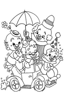 O mundo colorido: Imagens do Carnaval para imprimir e colorir: Clowns Coloring, Coloring Clowns, Coloring Pages, Coloring Book, Clowns Printable, Clown Coloring Page, Drawing, Kid