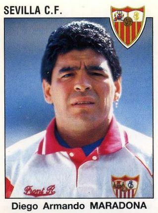 Diego Armando Maradona 1994 Sevilla