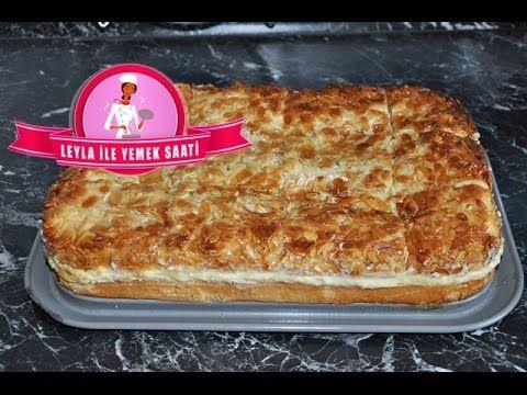 Bienenstich Rezepte ( Arı Sokması Pastası ) | Leyla ile yemek saati