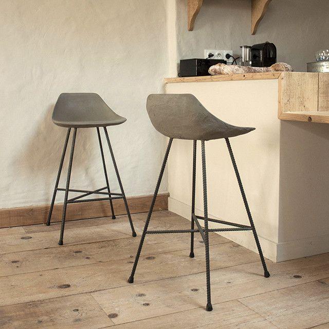 Hauteville Counter Chair by Lyon Beton - Made Modern - 1