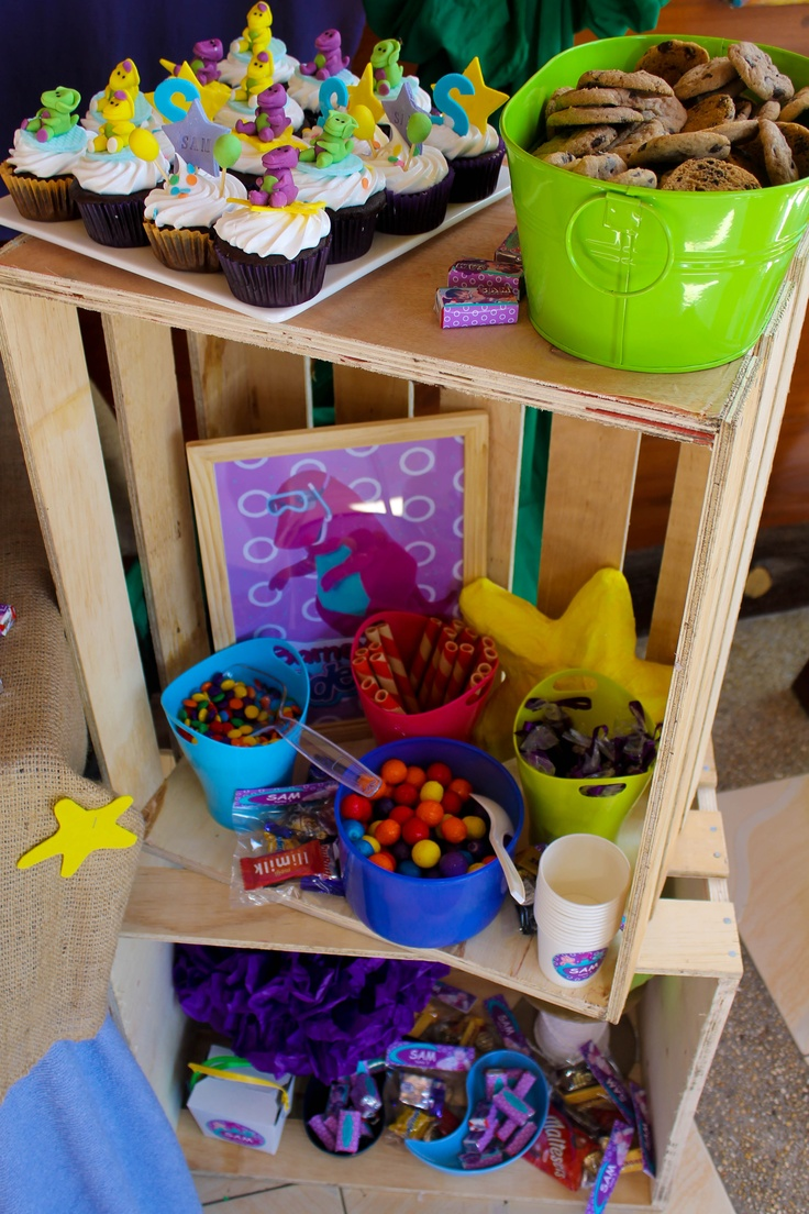 Children S Birthday Party Ideas Columbia Sc Under The Sea Barney Diy Decorations