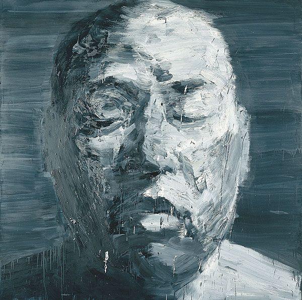 Self-portrait (Mars), by Yan Pei-Ming - 2000