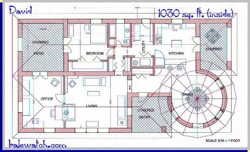 earthship floor plans - Google Search