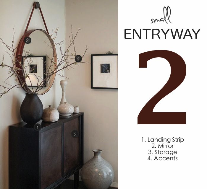 Eight Hundred Sq. Ft.'s Rules for The Perfect Small Entryway