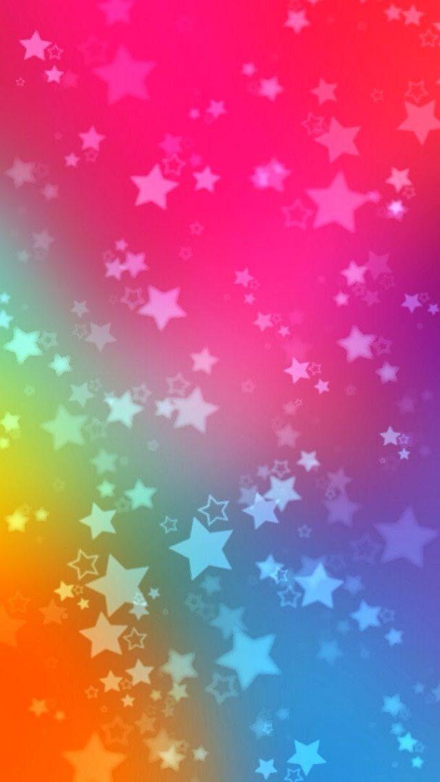 iPhone5 Stars Pattern Wallpaper.
