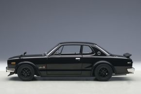 "The Nissan Skyline GT-R KPGC10 ""Hakosuka,"" one of the most popular vintage Japanese cars in the world. AUTOart has crafted what is probably the finest diecast model replica of this iconic car in 1:18 scale. Now available at Model Citizen."