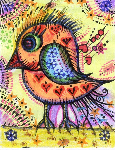 Mały ptaszek