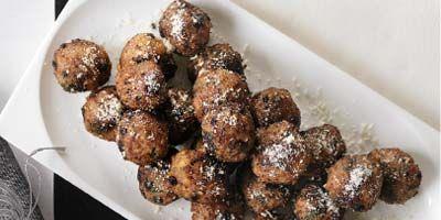 Parmasen dusted meatballs Nine news channel