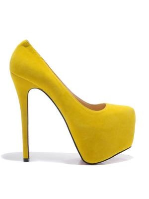 Yellow Fashion Trend Of High Heels  www.choies.com
