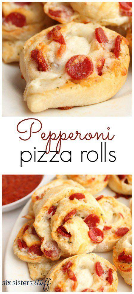 Pepperoni Pizza Rolls 3