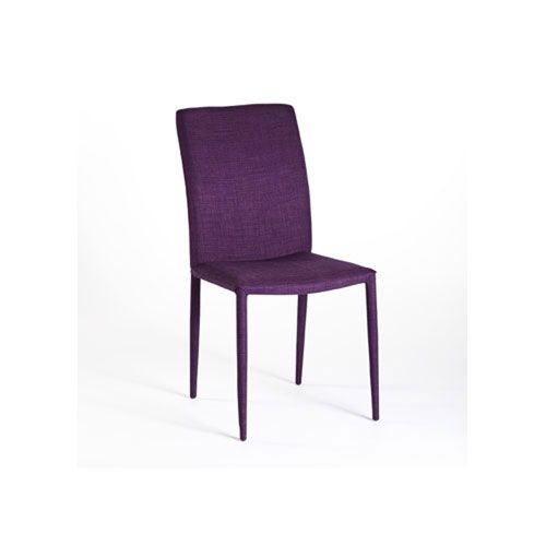 Vivian Purple Dining Chair, Set of 2