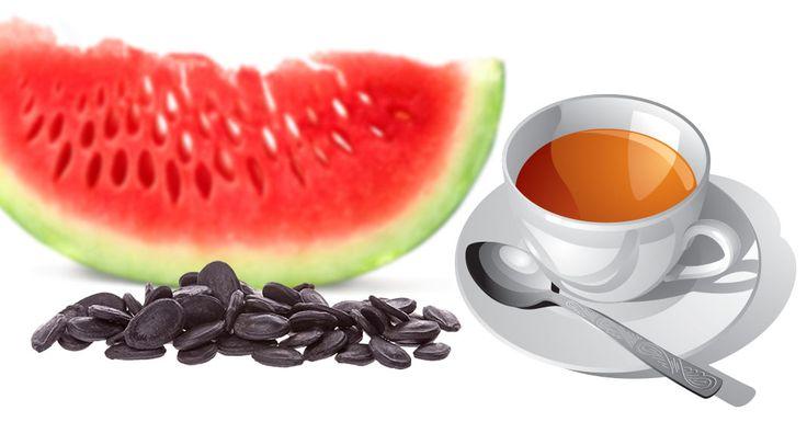 Naredite si čaj iz lubeničinih semen