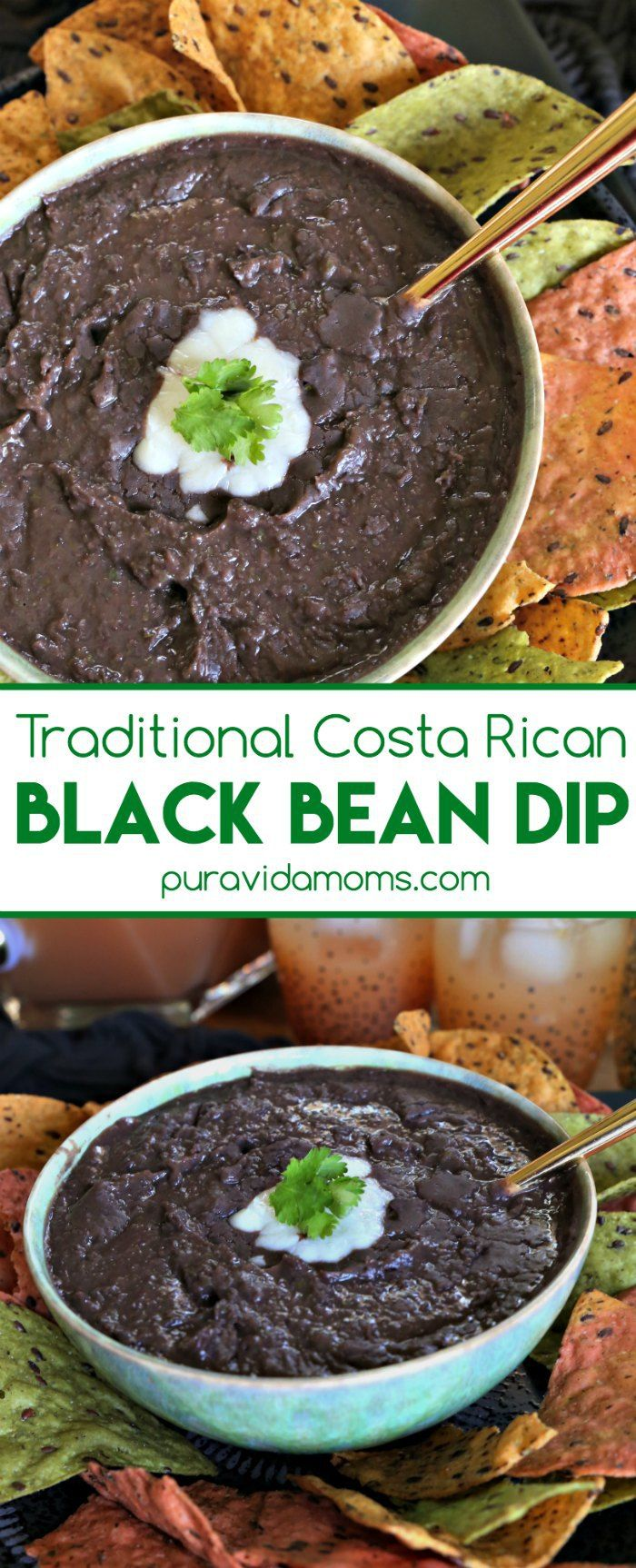 This Traditional Costa Rican Black Bean Dip Recipe Is The