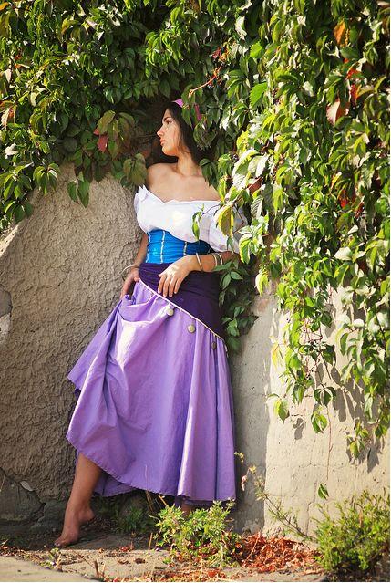 esmeralda disney | Alex Kami as Esmeralda Disney Version costume Cosplay picture image