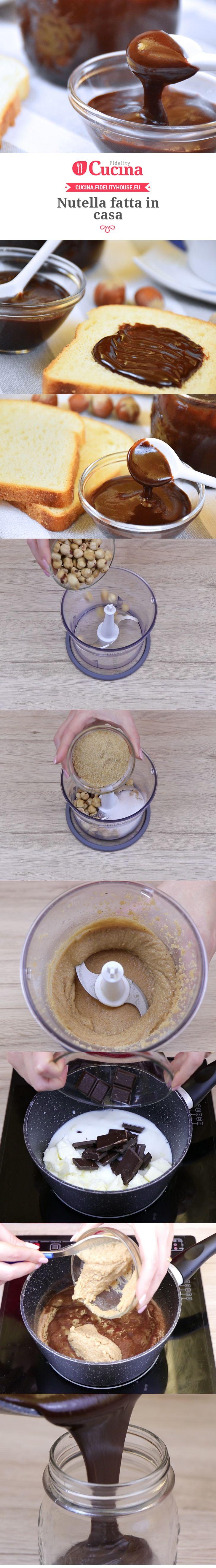 Nutella fatta in casa