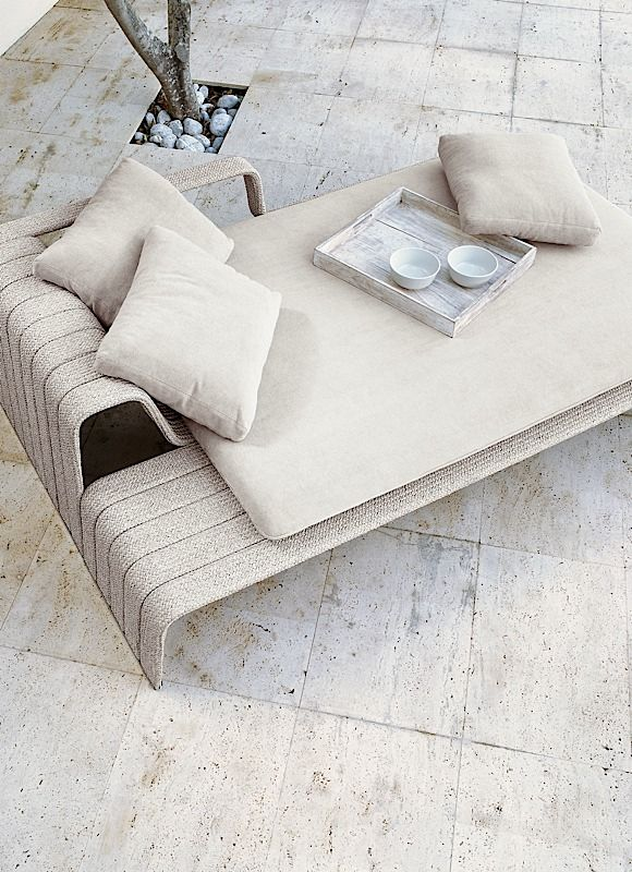 Outdoor bed seat