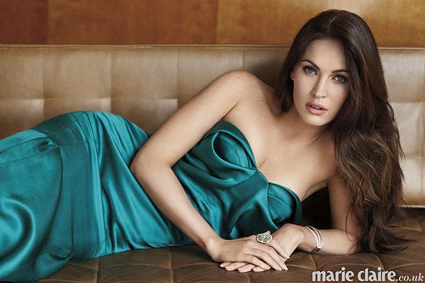 Megan Fox in the March Marie Claire UK.
