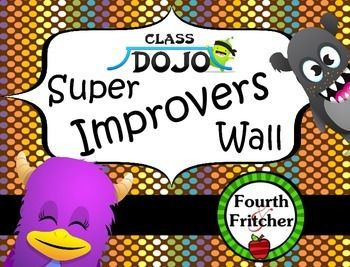 Class Dojo Super Improvers Wall