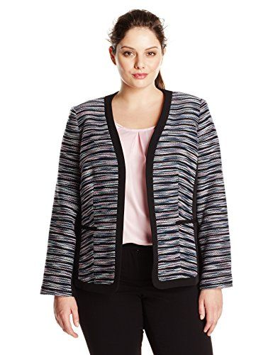 Kasper Women's Plus-Size Fly Away Tweed Jacket, Tutu Pink... http://www.amazon.com/dp/B019OUNI7I/ref=cm_sw_r_pi_dp_sxdoxb0875A4K