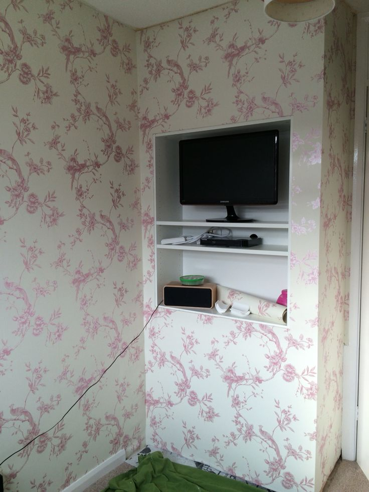 Step 11: wallpapering finished!