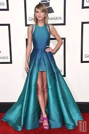 Taylor Swift in Elie Saab at the 2015 Grammy's